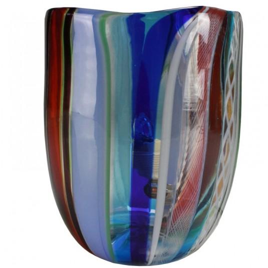 Fantasy, lampada multicolore azzurro