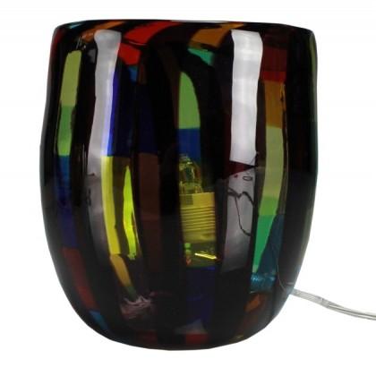Fantasy, lampada multicolor nero