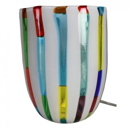 Fantasy, Lampada Multicolore Bianca