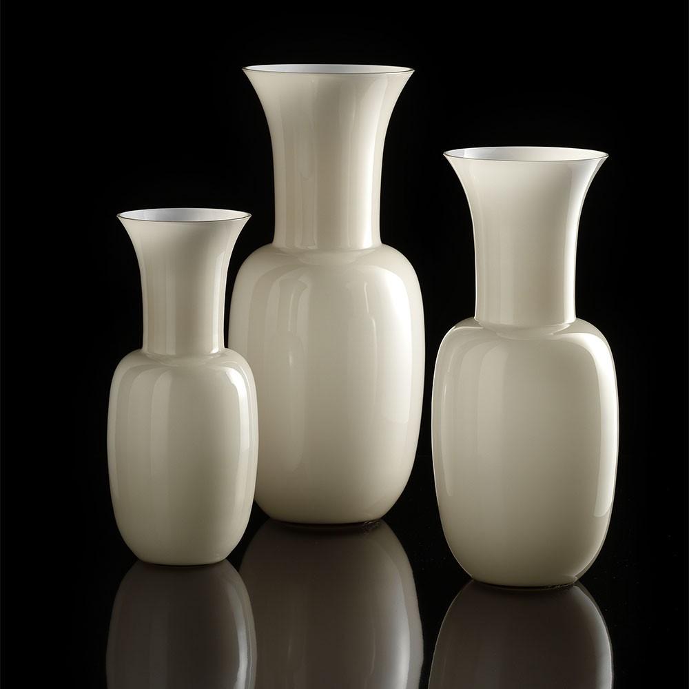Opali vaso tortora vasi in vetro di murano i muranesi for Vasi vetro design