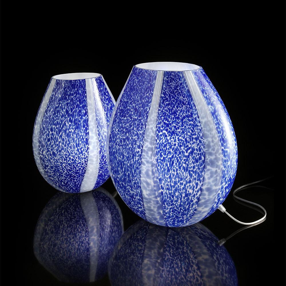 Ambiente lampada graniglia blu lampade in vetro di for Graniglia di vetro