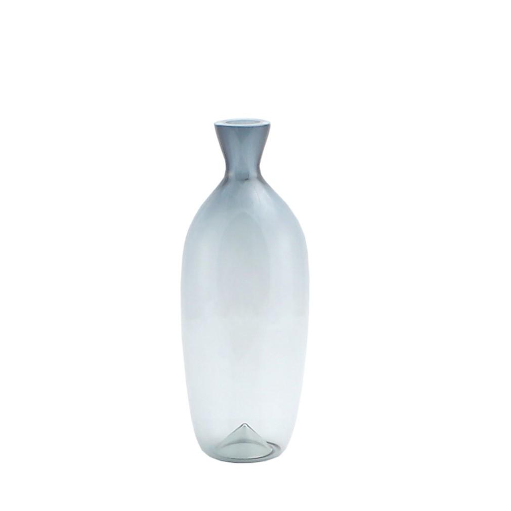 Calle vaso bottiglia alta vasi in vetro di murano i for Vasi ermetici vetro