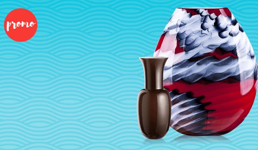 Una promozione imperdibile: Acquista una lampada e ti regaliamo un vaso Opali
