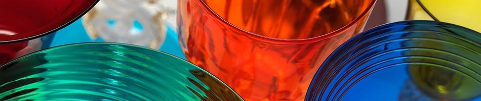 Bicchieri in vetro di Murano per arredare la tua tavola con lo stile di Venezia