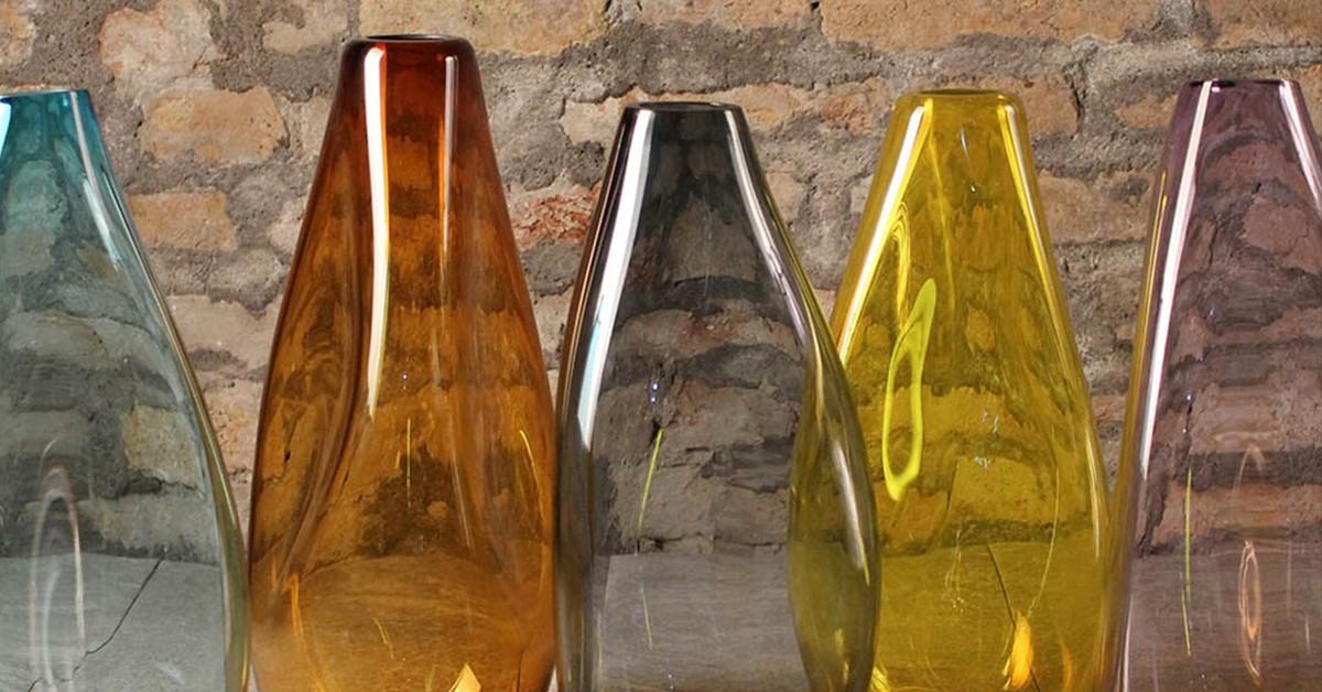 Come arredare con i vasi in vetro di Murano