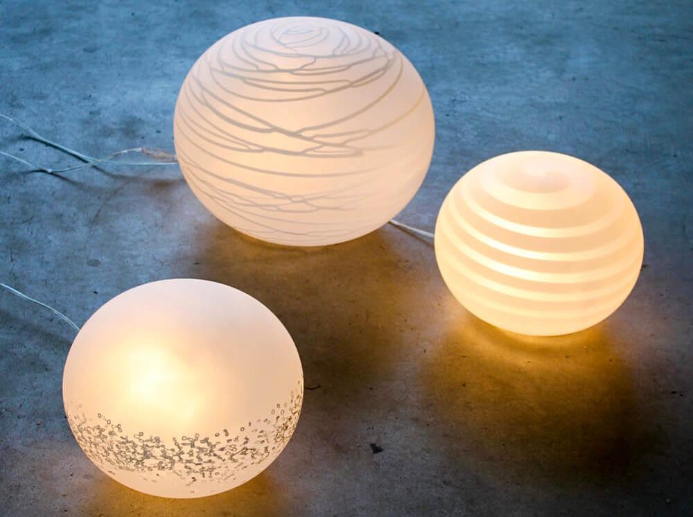 Globi - Lampade in Vetro di Murano